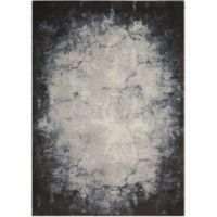 """Nourison Maxell 5'3"""" x 7'3"""" Machine Woven Area Rug in Iv/yGrey"""