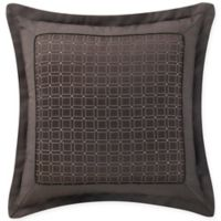 Waterford® Glenmore Geometric Throw Pillow in Mink