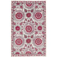 Mohawk Home Suzani 7-Foot 6-Inch x 10-Foot Area Rug in Pink