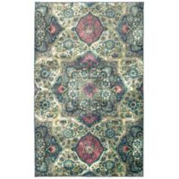 Mohawk Home Aurora Cashmire 7-Foot 6-Inch x 10-Foot Area Rug in Teal