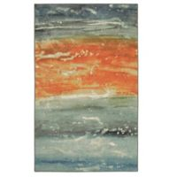 Mohawk Home® Aurora Abstract Seascape 5-Foot x 8-Foot Area Rug in Blue