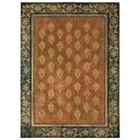 Patina Vie by Karastan 8' x 11' Floret Area Rug in Saffron