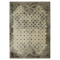 "Patina Vie by Karastan 5'3"" x 7'10 Lakeside Cottage Area Rug in Grey"