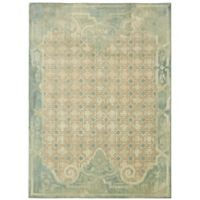 Patina Vie by Karastan 8' x 10' Lakeside Cottage Area Rug in Aqua