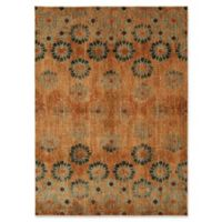 Patina Vie by Karastan 8' x 10' In Bloom Area Rug in Saffron