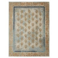 "Patina by Karastan 5'3"" x 7'10"" Floret Area Rug in Gold"