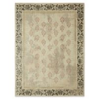 "Patina Vie by Karastan 5'3"" x 7'10"" Floret Area Rug in Blush"