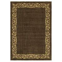 Mohawk Home Madison 8-Foot x 10-Foot Area Rug in Brown