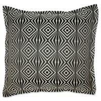 Laundry By Shelli Segal® Avalon European Pillow Sham in Platinum