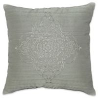 Laundry by SHELLI SEGAL® Textura Embroidered Throw Pillow in Grey