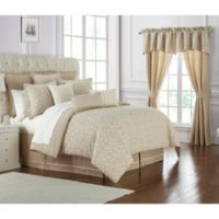 Waterford® Charlize Queen Comforter Set in Gold