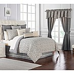 Waterford® Charlize King Comforter Set in Grey