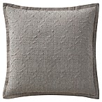 Waterford® Charlize European Pillow Sham  in Grey