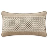 Waterford® Charlize Breakfast Throw Pillow in Gold