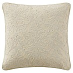 Waterford® Charlize Crewel Throw Pillow in Gold