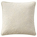 Waterford® Charlize Crewel Throw Pillow in Grey