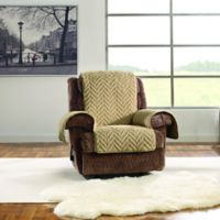 Sure Fit® Faux Fur Recliner Protector Collection
