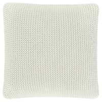 Oscar/Oliver Luca Square Throw Pillow in Ivory