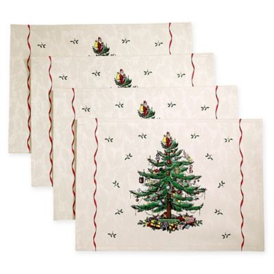 Spode® Christmas Tree By Avanti Placemat (Set Of 4)