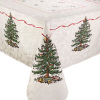 Spode® Christmas Tree by Avanti 60-Inch x 102-Inch Oblong Tablecloth