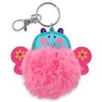 Stephen Joseph® Butterfly Pom Pom Critter Key Chain
