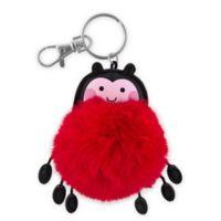 Stephen Joseph® Ladybug Pom Pom Critter Key Chain