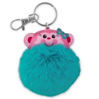 Stephen Joseph® Monkey Pom Pom Critter Key Chain