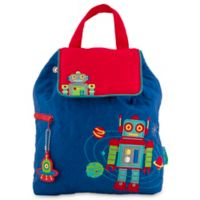 2f542ed8b987 Stephen Joseph® Quilted Robot Backpack