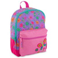 Stephen Joseph® Butterfly Allover Print Quilted Rucksack
