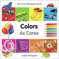 """""""My First Bilingual Book - Colors As Cores"""" Book (English/Portuguese)"""