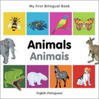 """""""My First Bilingual Book - Animals Animales"""" Book (English/Portuguese)"""