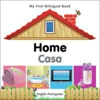 """""""My First Bilingual Book - Home Casa"""" Book (English/Portuguese)"""