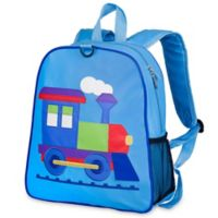 Olive Kids™ Train Embroidered Backpack in Blue