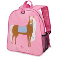 Olive Kids™ Horse Embroidered Backpack in Pink