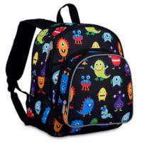 Wildkin Monsters Pack 'N Snack Backpack in Black