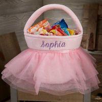 Pink Princess Tutu Plush Treat Bag