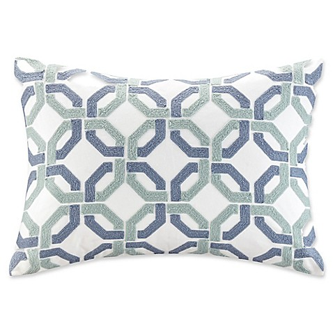 Madison Park Signature Concord Cotton Embroidered Oblong