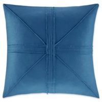 Madison Park Avella Oversized Square Throw Pillow in Navy