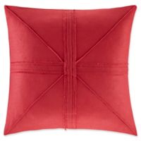 Madison Park Avella Oversized Square Throw Pillow in Red