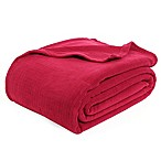 Polartec® Berkshire Blanket® Thermal Pro King Blanket in Cranberry