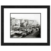 Canal Street, New Orleans 18-Inch x 22-Inch Framed Wall Art