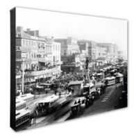 Canal Street, New Orleans 16-Inch x 20-Inch Photo Canvas Wall Art