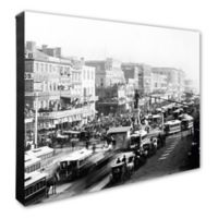Canal Street, New Orleans 20-Inch x 24-Inch Photo Canvas Wall Art