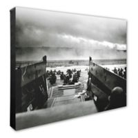 D-Day Invasion 16-Inch x 20-Inch Canvas Wall Art