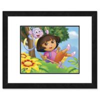 Photo File Dora the Explorer II 18-Inch x 22-Inch Framed Photo Wall Art