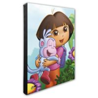 Photo File Dora the Explorer Canvas 1 Wall Art