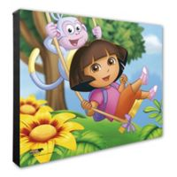 Photo File Dora the Explorer Canvas 2 Wall Art