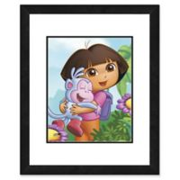 Photo File Dora the Explorer I 22-Inch x 26-Inch Framed Photo Wall Art
