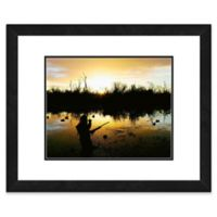 Duck Hunter 22-Inch x 26-Inch Framed Wall Art