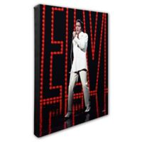 Elvis Presley Photo Three 16-Inch x 20-Inch Canvas Wall Art
